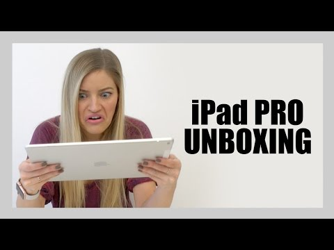 iPAD PRO UNBOXING!!! | iJustine