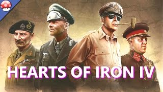 Hearts of Iron IV Gameplay (PC HD)