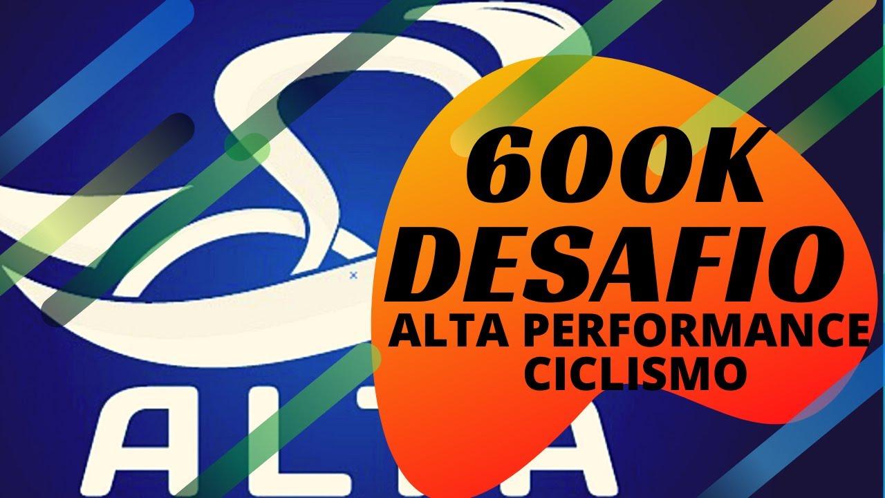 DESAFIO 600K EM 7 DIAS ALTA PERFORMANCE CICLISMO