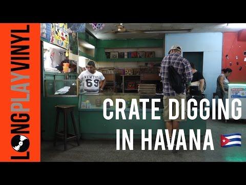 Digging for Vinyl Records in Havana Cuba