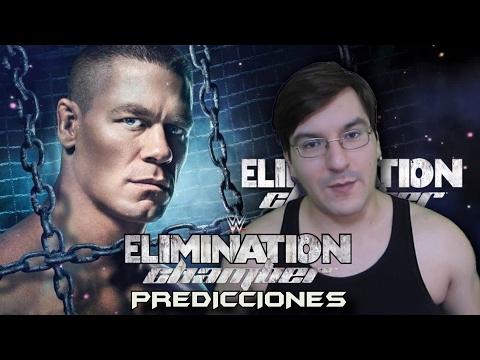 PREDICCIONES WWE ELIMINATION CHAMBER 2017 #LMD