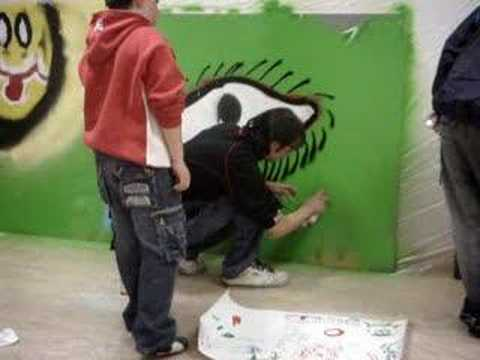 Taller graffiti ni os y ni as en el mundo youtube for Graffitis para ninos