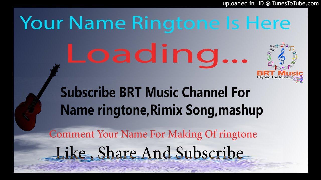mr sonu name ringtone fdmr