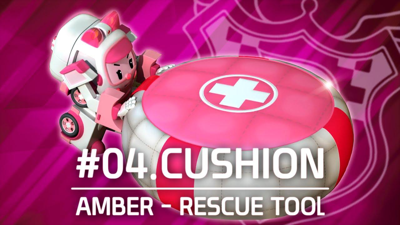 Amber rescue tool 04 cushion robocar poli youtube - Robocar poli ambre ...