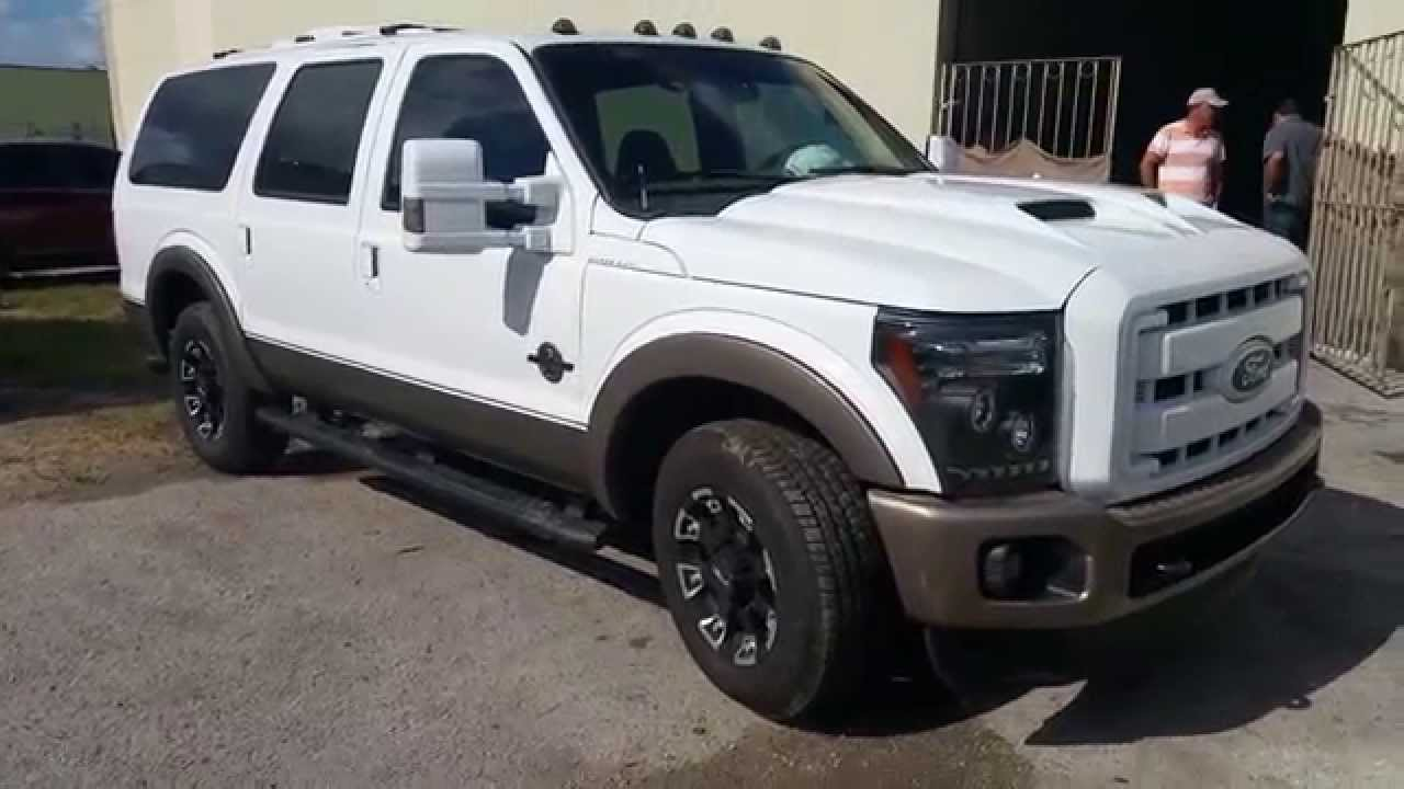Ford Excursion 2015 >> 2015 ford excursion transform convercion - YouTube