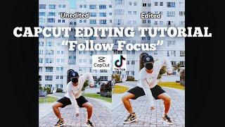 "CapCut Edit Tutorial -  Part 2 ""Follow Focus"" screenshot 3"