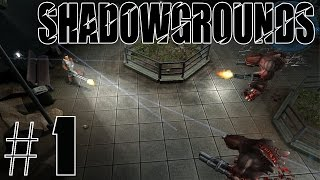 Shadowgrounds Walkthrough/Playthrough part 1 [No Commentary]