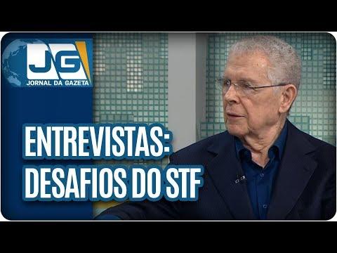 Rodolpho Gamberini entrevista Sydney Sanches, ex-presidente do STF, sobre os desafios da instituição