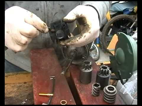 Starter Motor Repair Diy Youtube