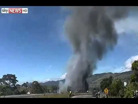 Fireworks Factory Blast in Colombia