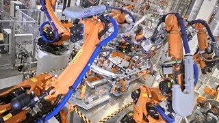 AUDI Q5 Üretimi | Ultra Yüksek Teknolojili Fabrika Otomasyonu