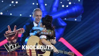 Knockout #TeamAxel: Lucila Ruiu vs Amorina Alday - La Voz Ar...