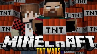 """THE PEE GUN CANNON!"" Minecraft TNT WARS w/NoahCraftFTW, BajanCanadian & More!"