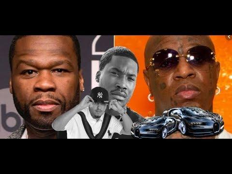 50 Cent and Birdman Debate $9 Million Bugatti, Meek Mill will he ever forgive French Montana????