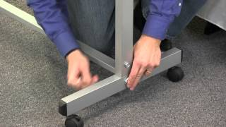 Luxor Assembly Guide: Mobile Whiteboard Assembly