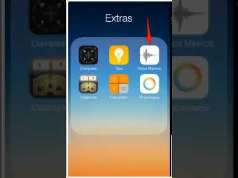 how to voice record using memo in iphone | ipad | ios device quick and easy