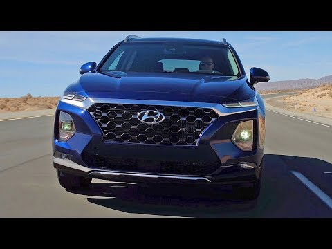 Hyundai Santa Fe (2019) Bigger and Better