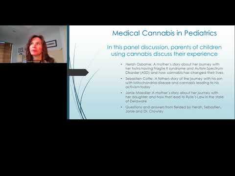 Medical Cannabis in Pediatrics