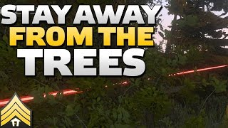 Stay away from the trees! - Arma 3 Scouting