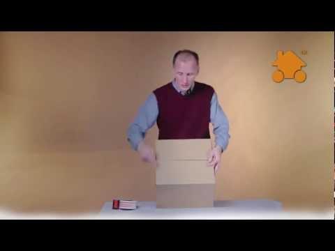 Картонные коробки 38 литров для переезда
