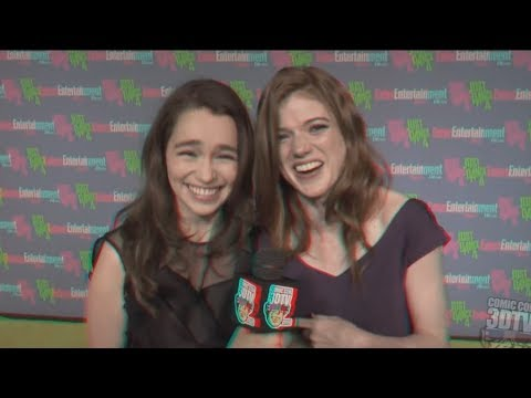 Rose Leslie & Emilia Clarke Friendship Tribute