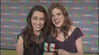 Download Rose Leslie & Emilia Clarke's Friendship Mp3 and Videos