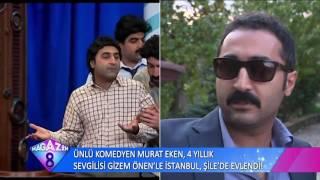 Ünlü Komedyen Murat Eken ve  4 Yıllık Sevgilisi Gizem Önen'in İstabul Şiledeki Düğünü