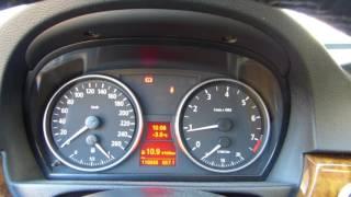 Démarrage à froid, - 3°C, avec 70% de super-éthanol (E85), BMW 330i