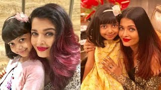 Here Are The Most Special Moments Of Aishwarya Rai With Her Baby Girl Aaradhya Bachchan | SpotboyE
