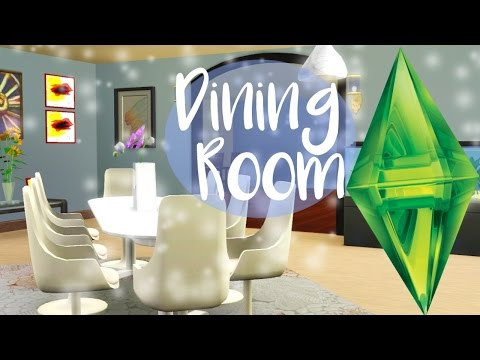 The Sims 3: Springhill Suite (Speed Furnish) | #2: Dining Room