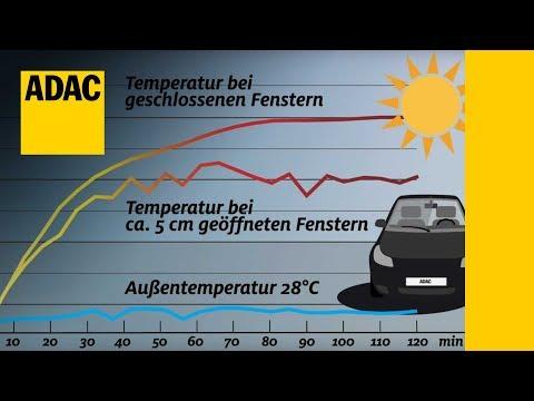 Gefahr: Hitze im Auto I ADAC 2017