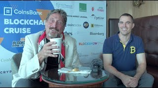 Roger Ver Interviews John McAfee - The Most Important Thing In Life
