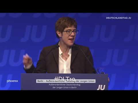 JU-Deutschlandtag - Rede von CDU-Chefin Annegret Kramp-Karrenbauer am 16.03.19