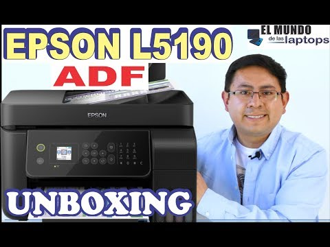Impresora Epson L5190 Unboxing Review ADF