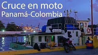 Cruce en moto de Panamá a Colombia - Una vuelta por Latinoamérica.