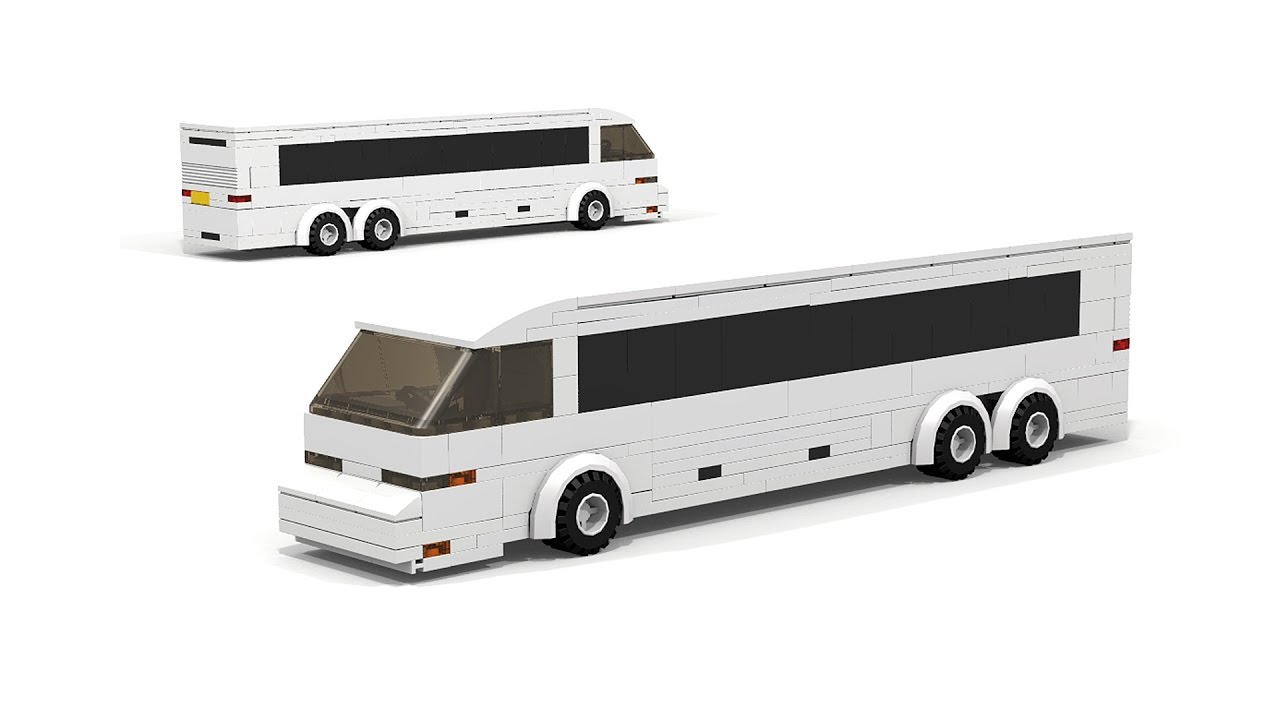 a few days away the latest 100% authentic LEGO Coach Bus MOC building instructions