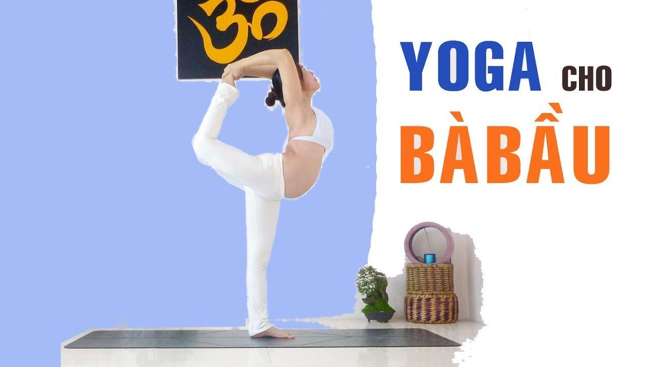 Yoga cho mẹ bầu tránh chuột rút, căng cơ | Yoga tại nhà | Phụ nữ & Gia đình