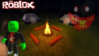 I DO CAMPING ROBLOX