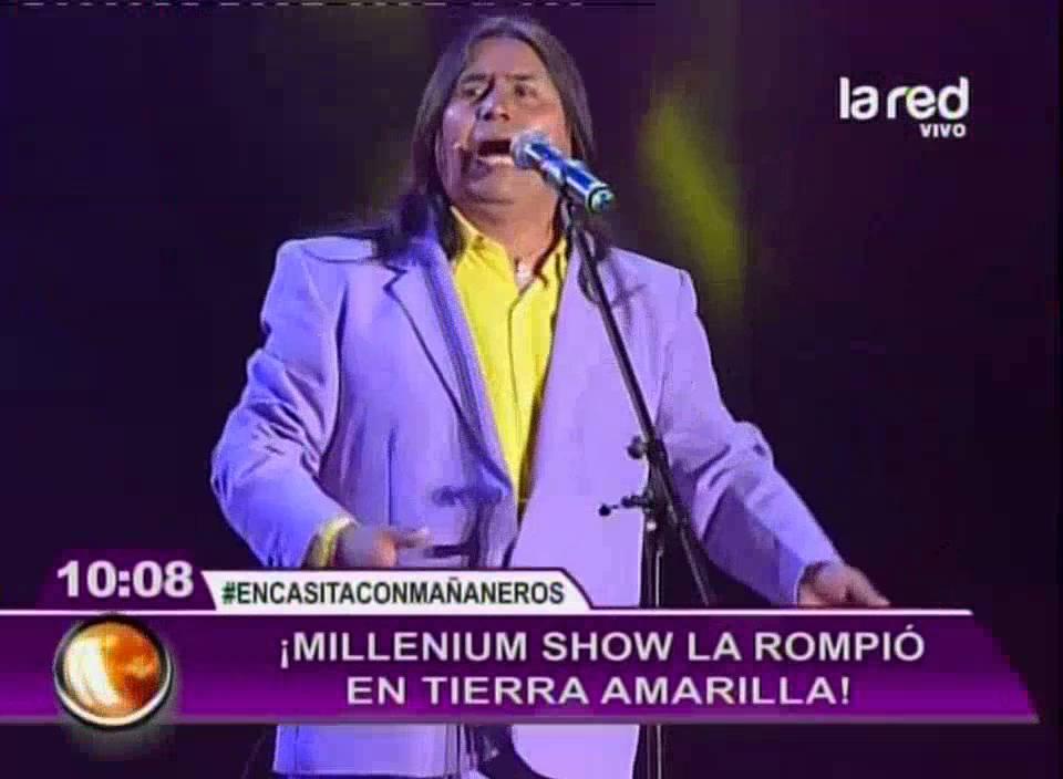 """Revivamos la presentación de """"Millenium Show"""" en Tierra Amarilla"""