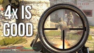 Call of Duty: WW2 4x is Good? Well, it