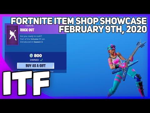 Fortnite Item Shop *NEW* BULLSEYE EDIT STYLE! [February 9th, 2020] (Fortnite Battle Royale)