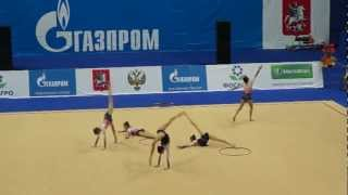 Групповые упражнения юниоры,Болгария(, 2013-03-02T05:25:29.000Z)