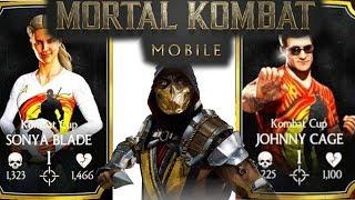 KOMBAT CUP CHALLENGE & CHARACTERS WE NEED TO SEE !!! | MORTAL KOMBAT MOBILE