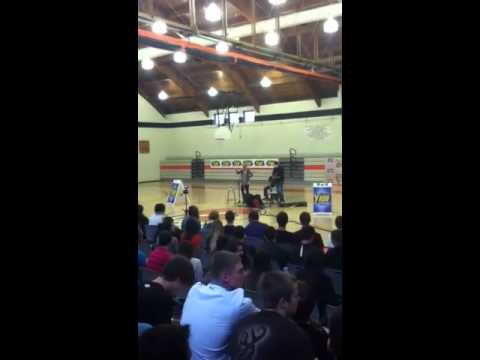 Lauren alaina at springdale jr sr high school