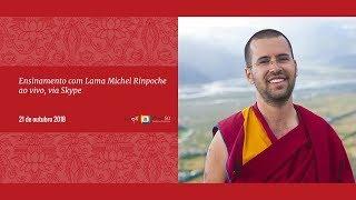 Conferências com Lama Michel Rinpoche