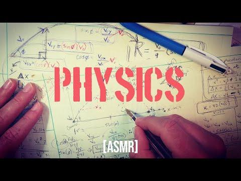 Physics (and Math) Free-fall Trajectory | ASMR Whisper