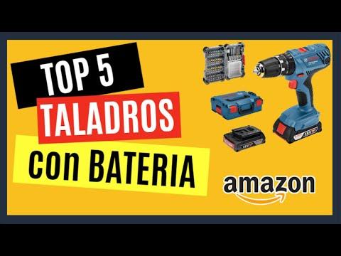 TOP 5 Mejores TALADROS con BATERIA Profesionales Inhalambricos | Sin Cable puedes COMPRAR en Amazon