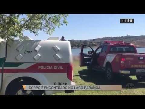 Corpo é encontrado no Lago Paranoá | SBT Brasília 21/08/2018