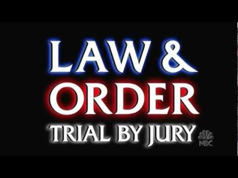 Law and Order Trial By Jury HD Voice Intro Lyrics