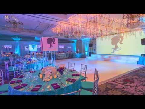 Bat Mitzvah Party Decor: Julia